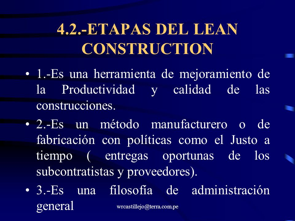 4.2.-ETAPAS DEL LEAN CONSTRUCTION