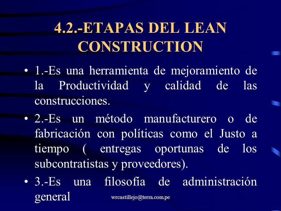 4.2.-ETAPAS DEL LEAN CONSTRUCTION