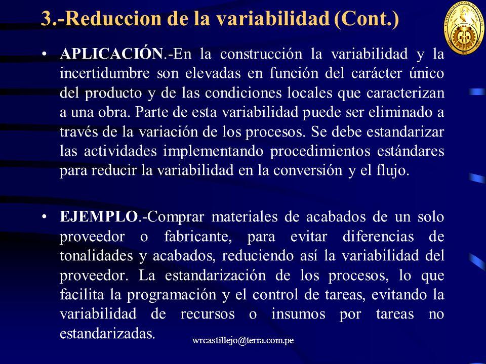 3.-Reduccion de la variabilidad (Cont.)