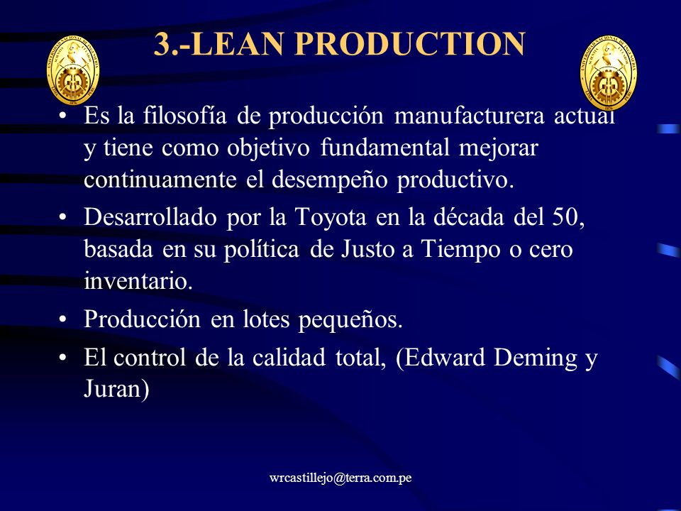 3.-LEAN PRODUCTION