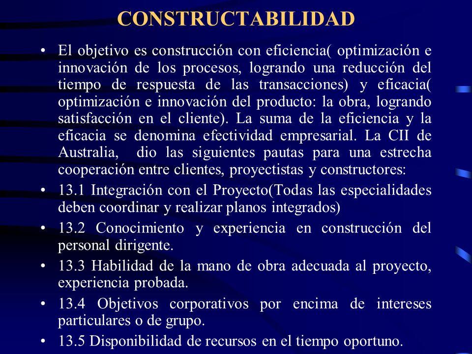 CONSTRUCTABILIDAD