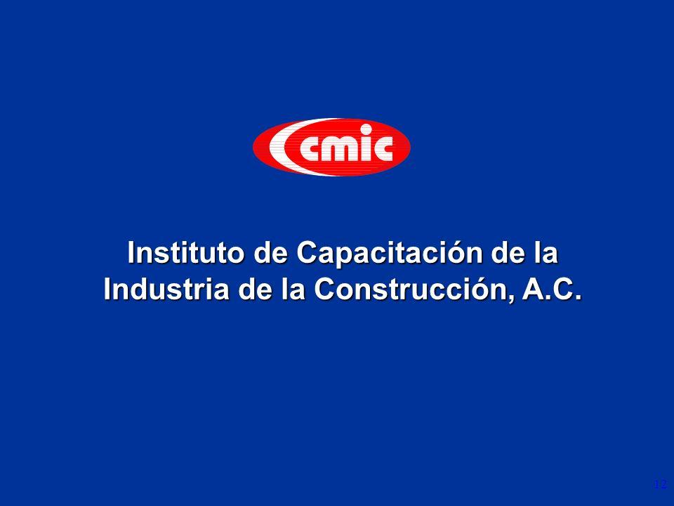 Instituto de Capacitación de la Industria de la Construcción, A.C.