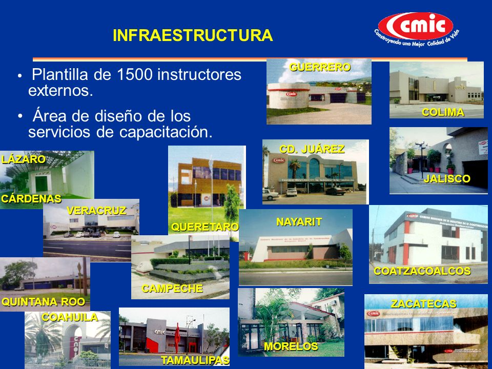 Área de diseño de los servicios de capacitación.