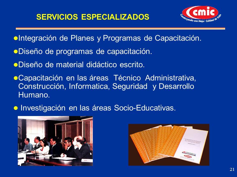 SERVICIOS ESPECIALIZADOS
