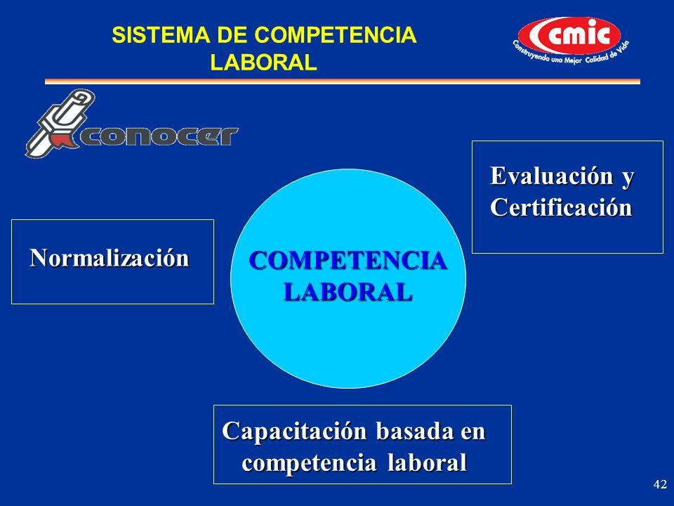 COMPETENCIA LABORAL Capacitación basada en competencia laboral