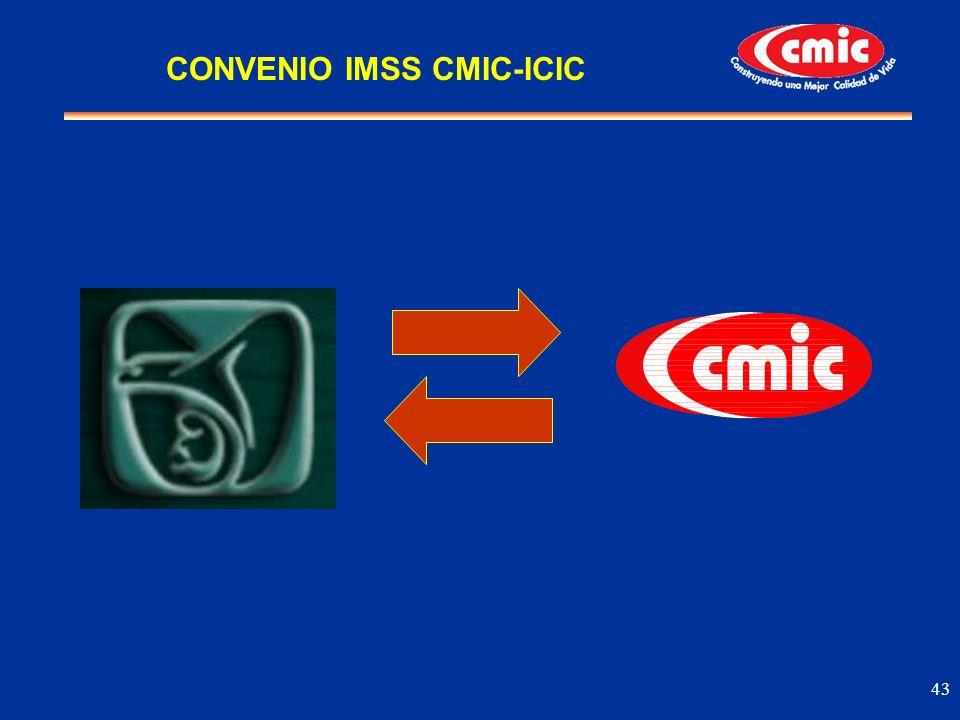 CONVENIO IMSS CMIC-ICIC