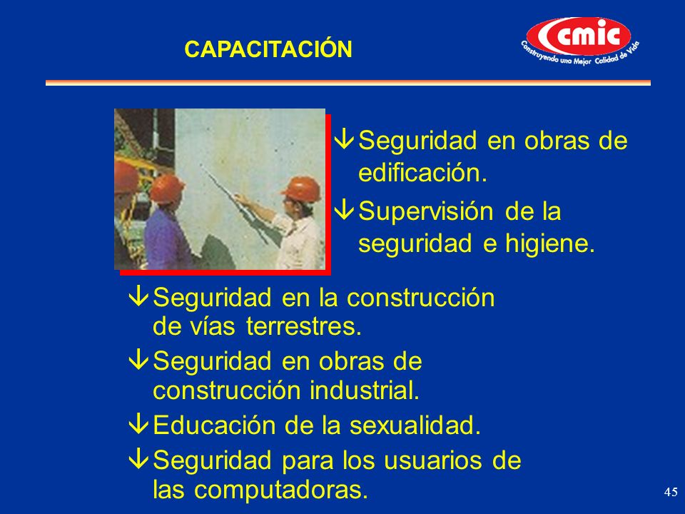 Seguridad en obras de edificación.