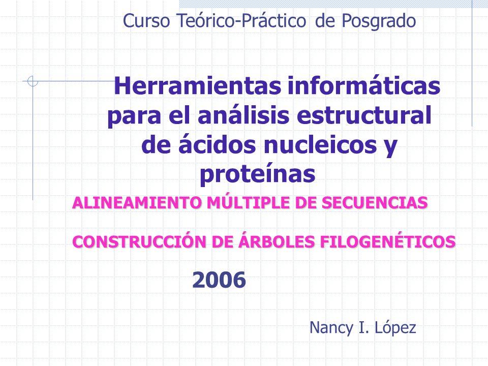 para el análisis estructural de ácidos nucleicos y proteínas