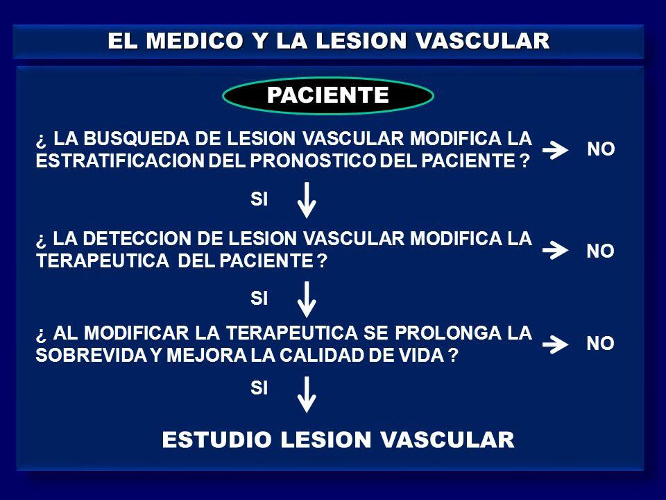 EL MEDICO Y LA LESION VASCULAR
