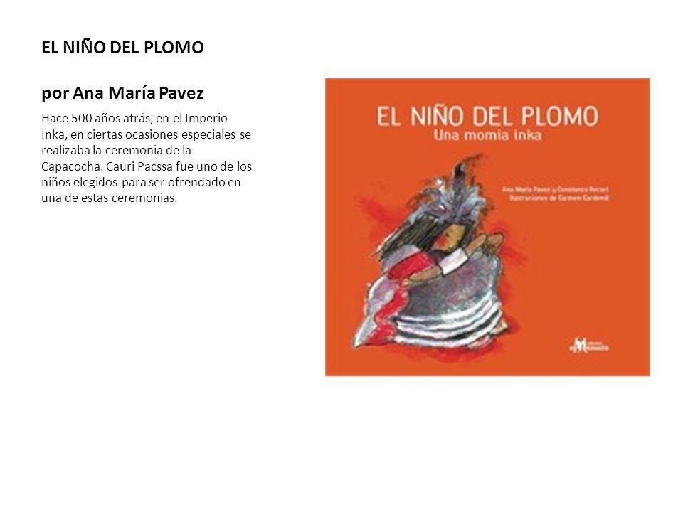 EL NIÑO DEL PLOMO por Ana María Pavez
