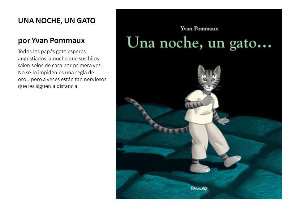 UNA NOCHE, UN GATO por Yvan Pommaux