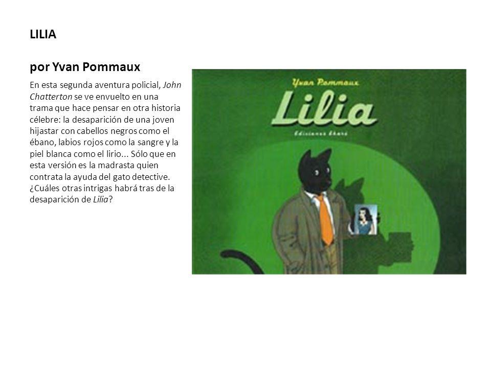 LILIA por Yvan Pommaux
