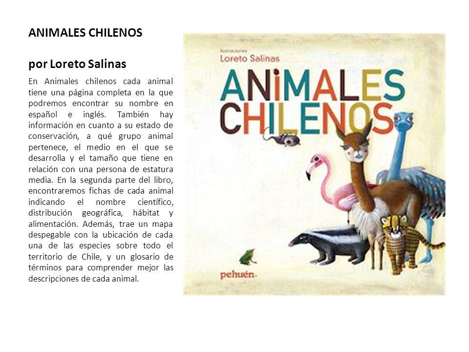 ANIMALES CHILENOS por Loreto Salinas