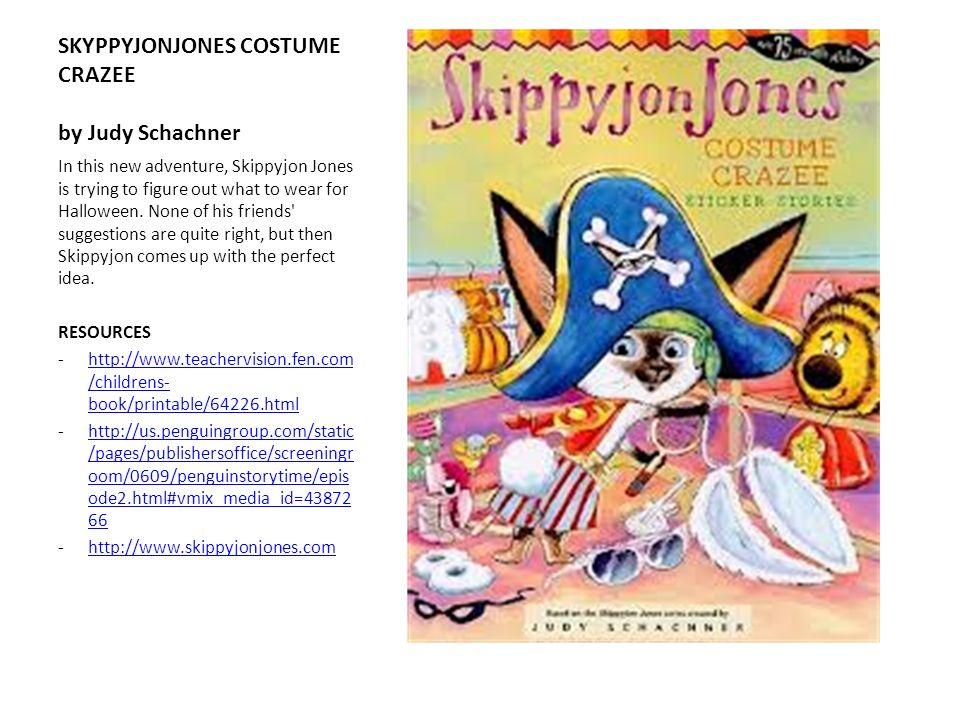 SKYPPYJONJONES COSTUME CRAZEE by Judy Schachner