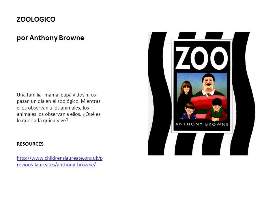 ZOOLOGICO por Anthony Browne