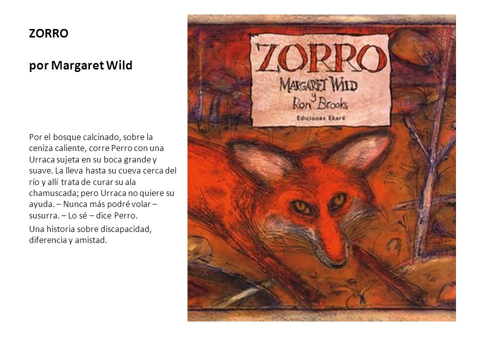 ZORRO por Margaret Wild
