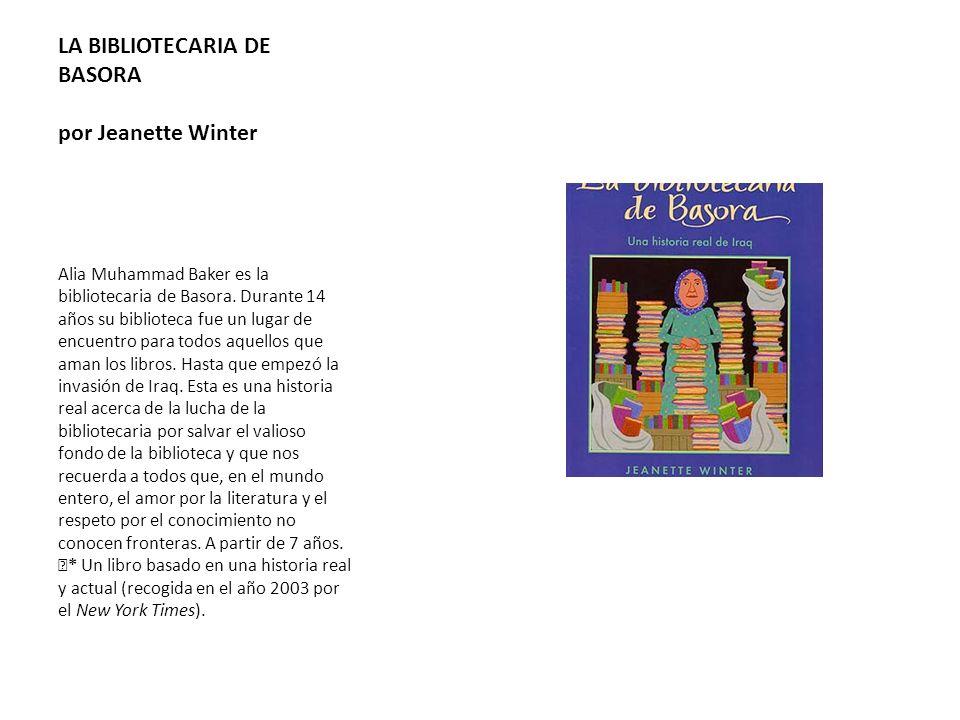 LA BIBLIOTECARIA DE BASORA por Jeanette Winter
