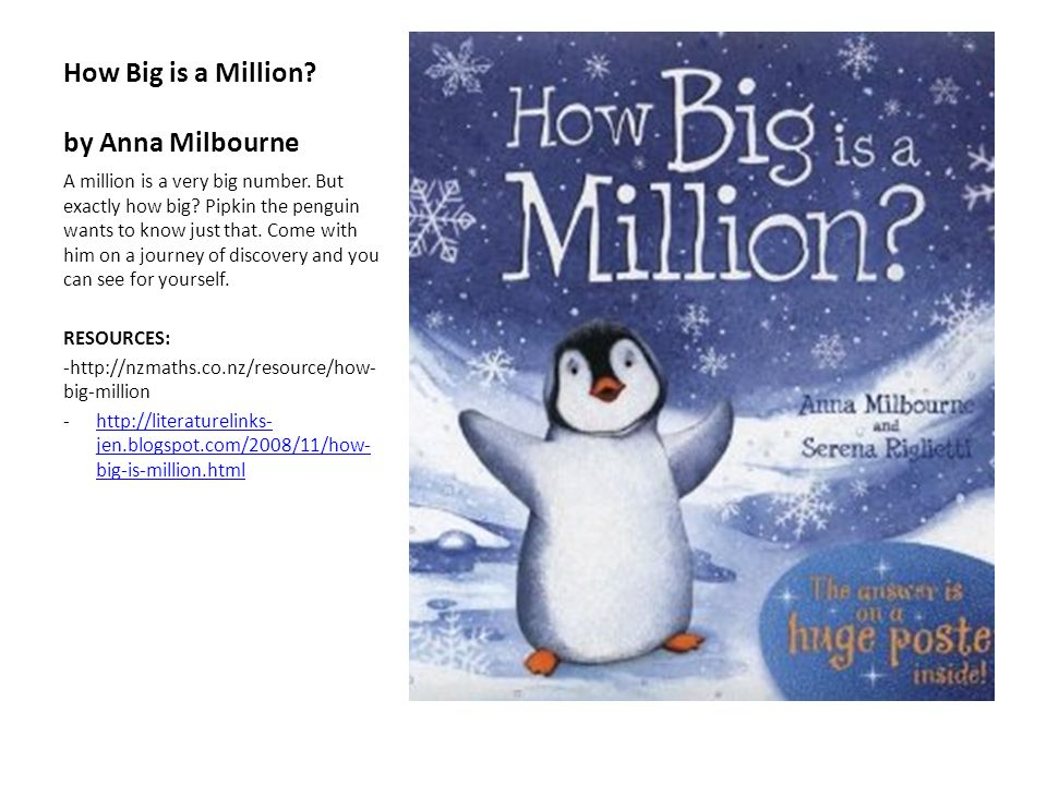 How Big is a Million by Anna Milbourne