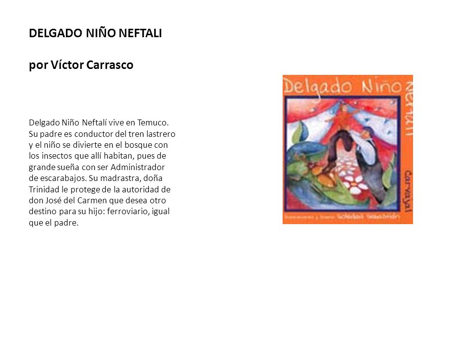 DELGADO NIÑO NEFTALI por Víctor Carrasco