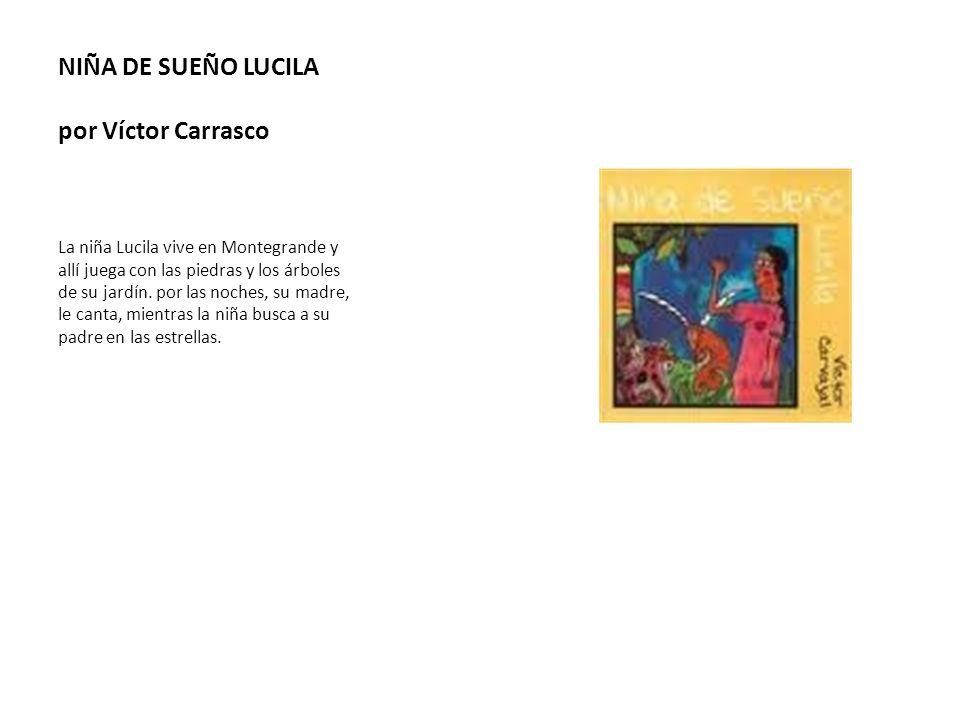 NIÑA DE SUEÑO LUCILA por Víctor Carrasco