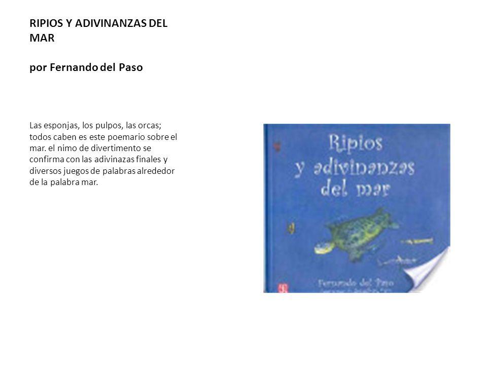 RIPIOS Y ADIVINANZAS DEL MAR por Fernando del Paso