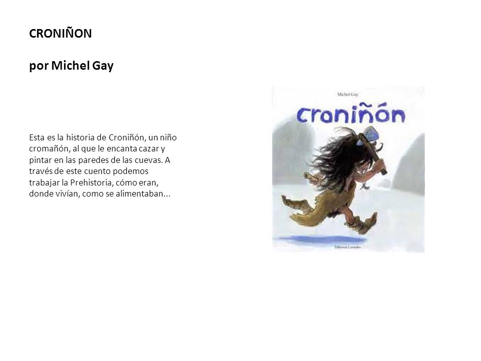 CRONIÑON por Michel Gay