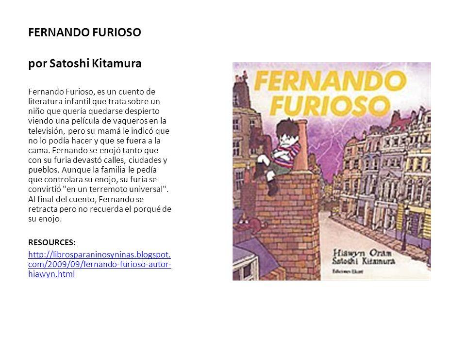 FERNANDO FURIOSO por Satoshi Kitamura