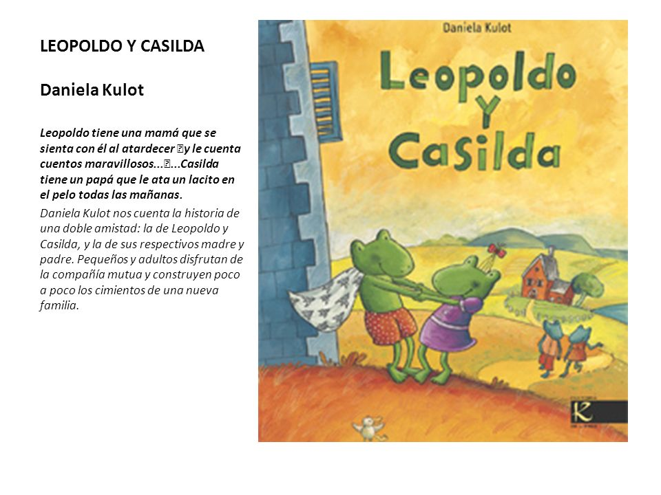 LEOPOLDO Y CASILDA Daniela Kulot