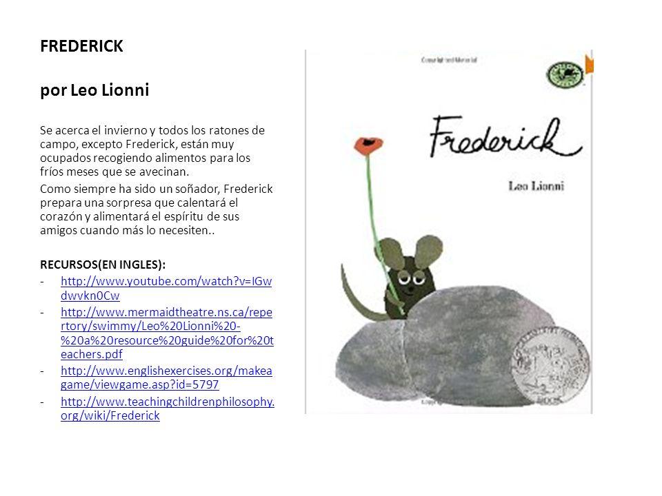 FREDERICK por Leo Lionni