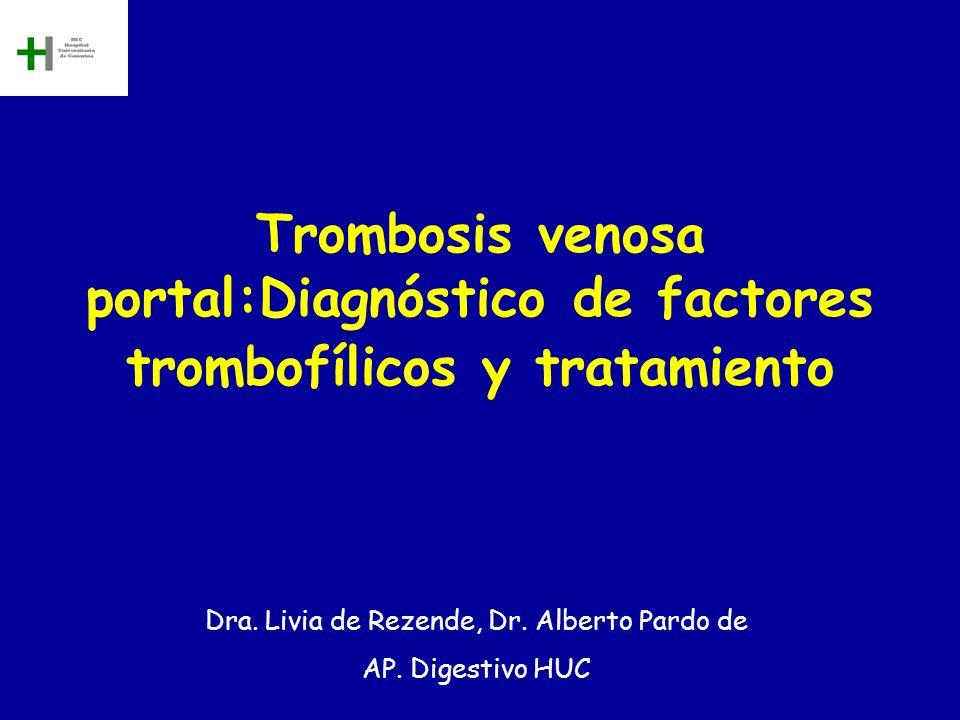 Dra. Livia de Rezende, Dr. Alberto Pardo de