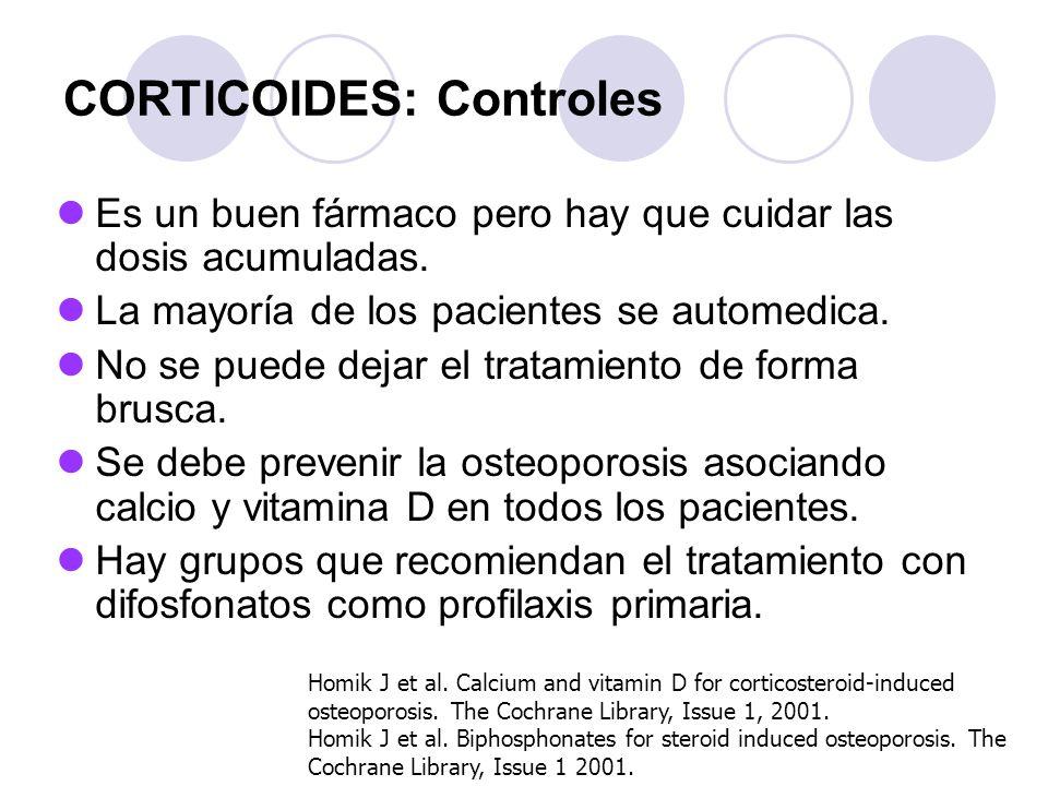 CORTICOIDES: Controles