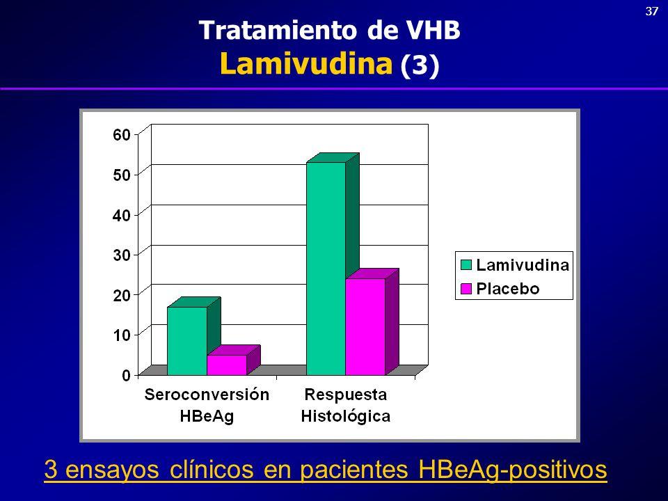 Tratamiento de VHB Lamivudina (3)