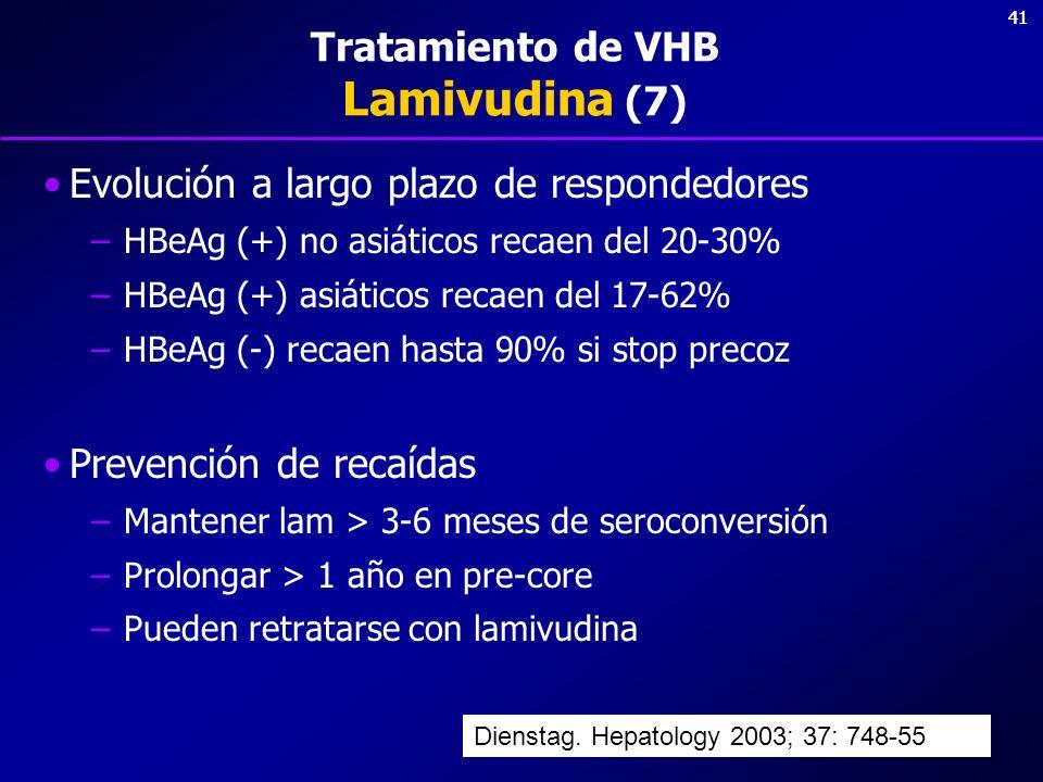 Tratamiento de VHB Lamivudina (7)
