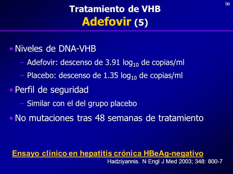 Tratamiento de VHB Adefovir (5)