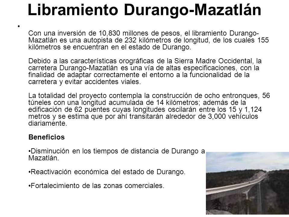 Libramiento Durango-Mazatlán