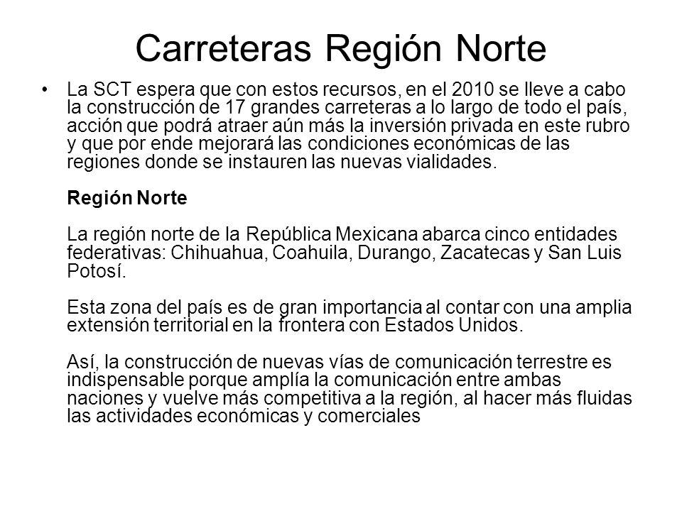 Carreteras Región Norte