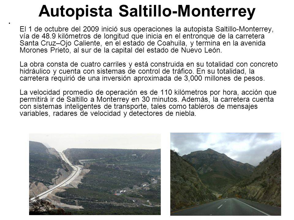 Autopista Saltillo-Monterrey