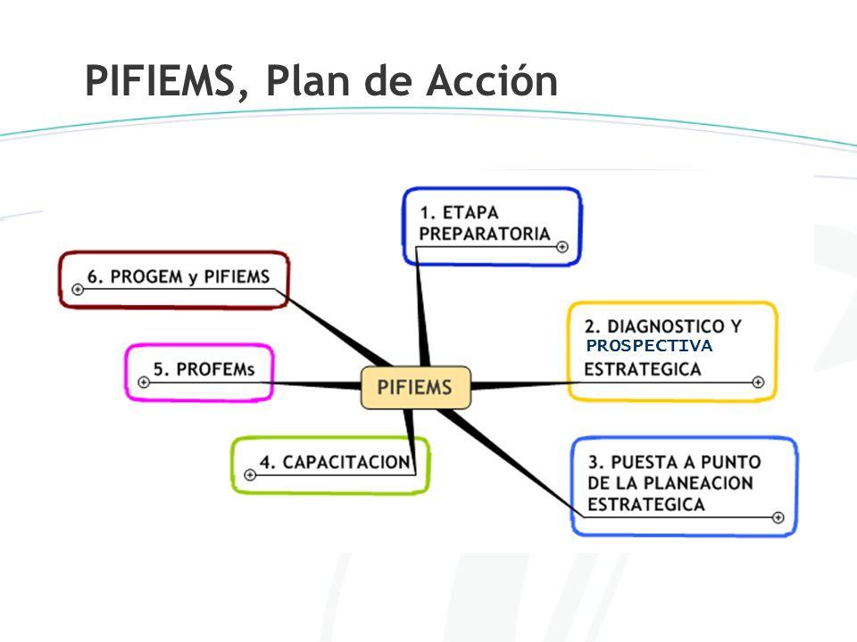 PIFIEMS, Plan de Acción PROSPECTIVA