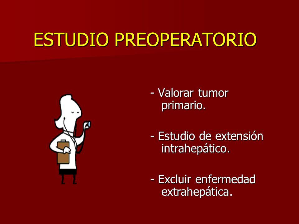 ESTUDIO PREOPERATORIO