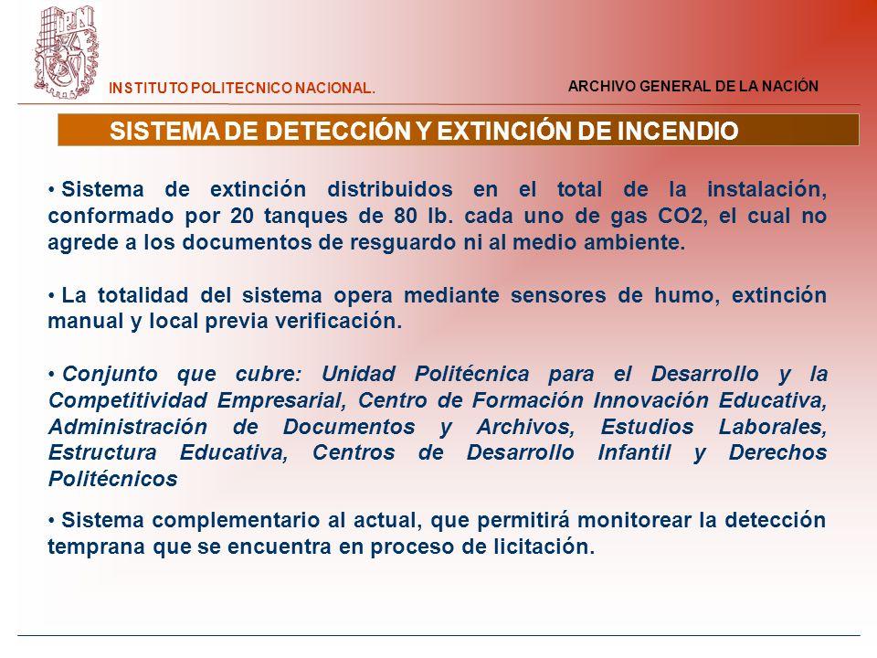 SISTEMA DE DETECCIÓN Y EXTINCIÓN DE INCENDIO