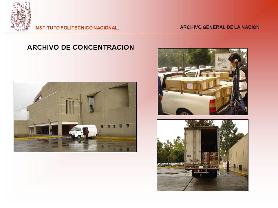 ARCHIVO DE CONCENTRACION