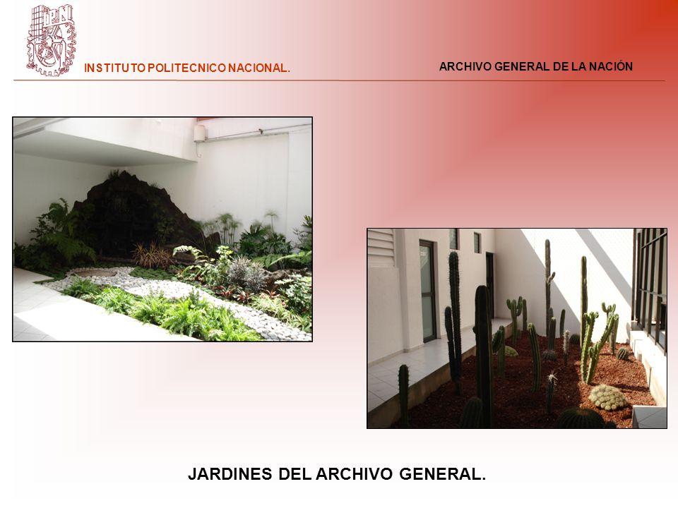 JARDINES DEL ARCHIVO GENERAL.