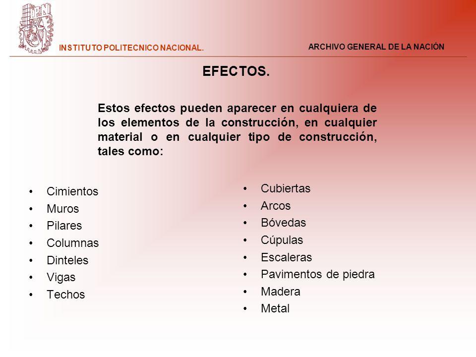 EFECTOS.