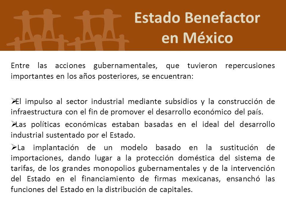 Estado Benefactor en México