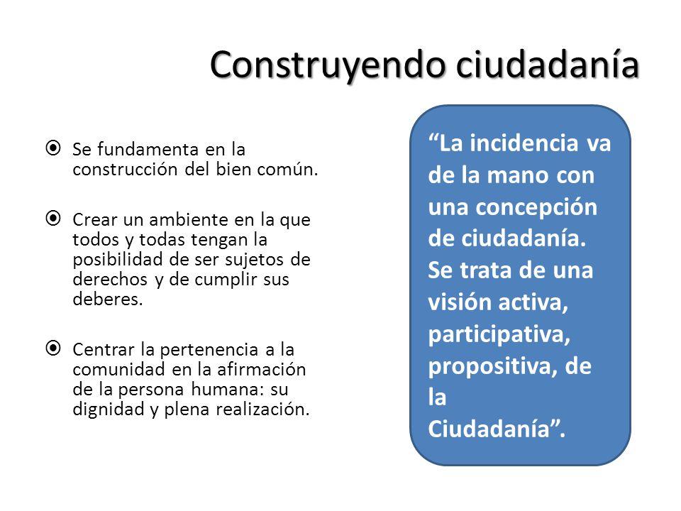 Construyendo ciudadanía