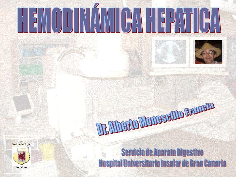 HEMODINÁMICA HEPATICA