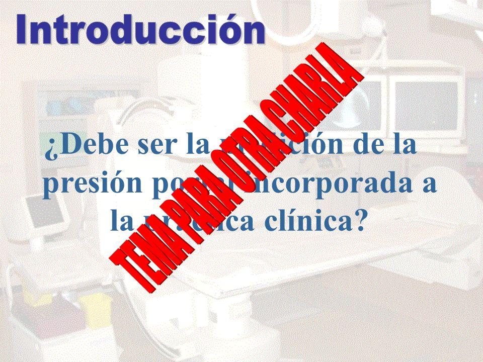 Introducción ¿Debe ser la medición de la presión portal incorporada a la práctica clínica.