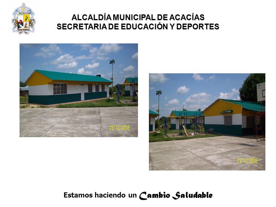 ALCALDÍA MUNICIPAL DE ACACÍAS SECRETARIA DE EDUCACIÓN Y DEPORTES