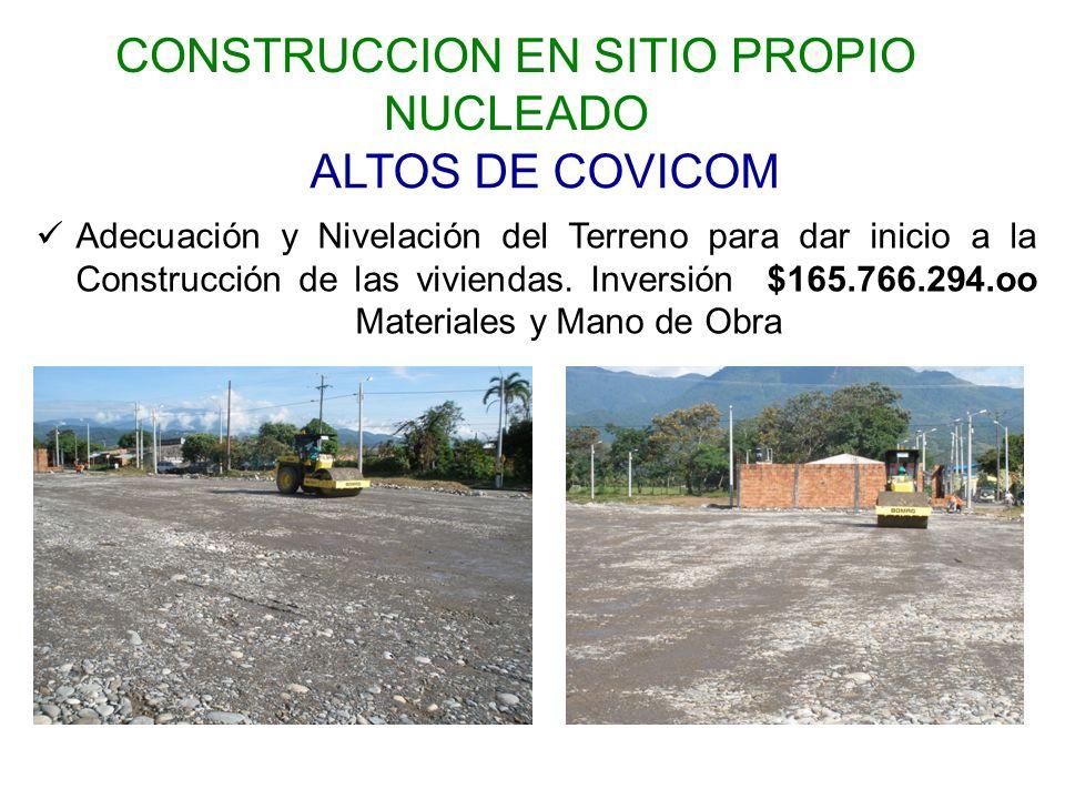 CONSTRUCCION EN SITIO PROPIO NUCLEADO