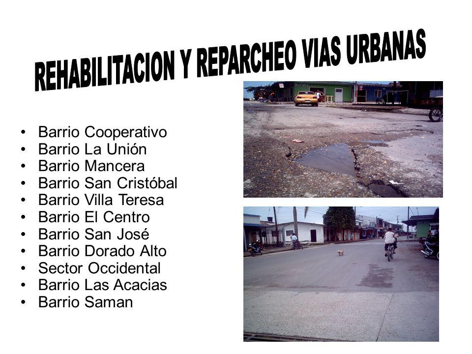 REHABILITACION Y REPARCHEO VIAS URBANAS